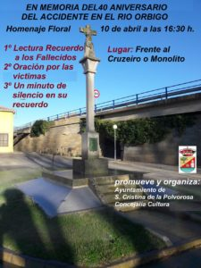 homenaje 40 aniversario accidente rio orbigo
