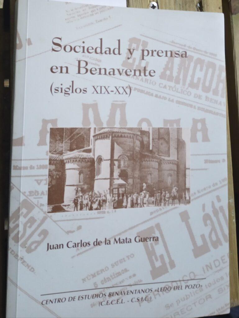 PORTADA DEL LIBRO DE JUANCARLOS DE LA MATA GUERRA